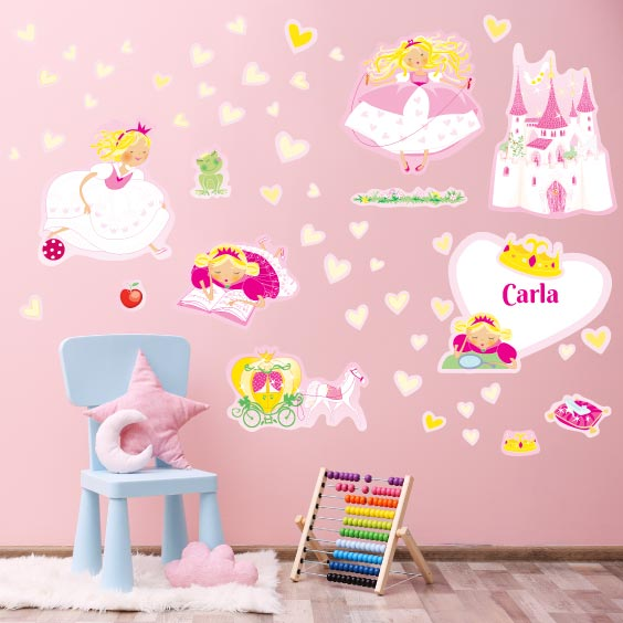 Princess Wall Decals