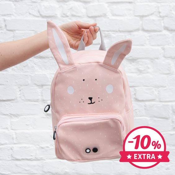 10% Extra Mrs. Rabbit Trixie Backpack