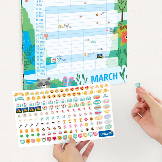 Personalized Family Calendar