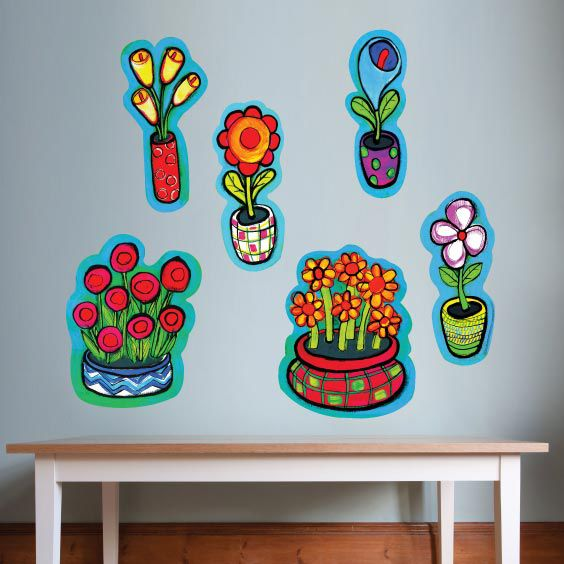 Flower Collection Wall Decals