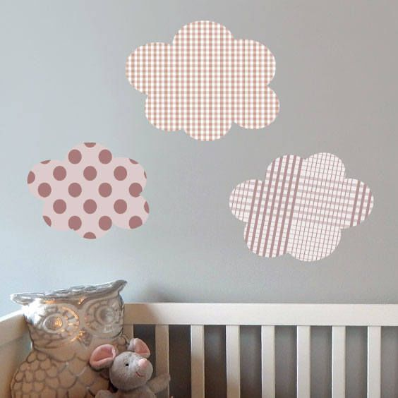 Clouds Wall Decals 2