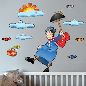 Nanny wall stickers