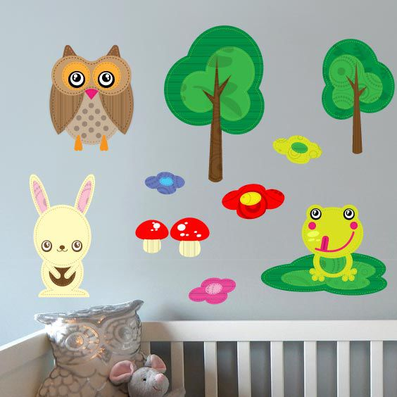 Forest Animals Wall Decal