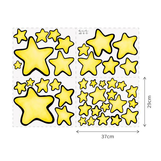 Stars Wall Decals