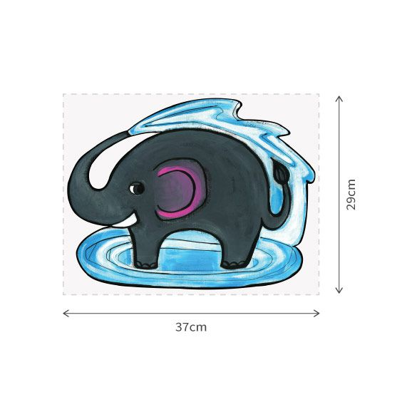 Elefant Wall Decal