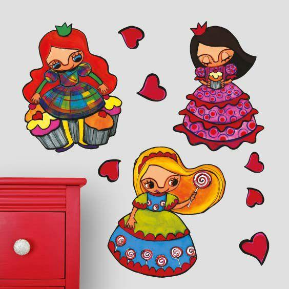 Vinil princeses i cupcakes 3