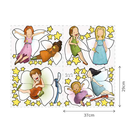 Fairy Girls Wall Decal