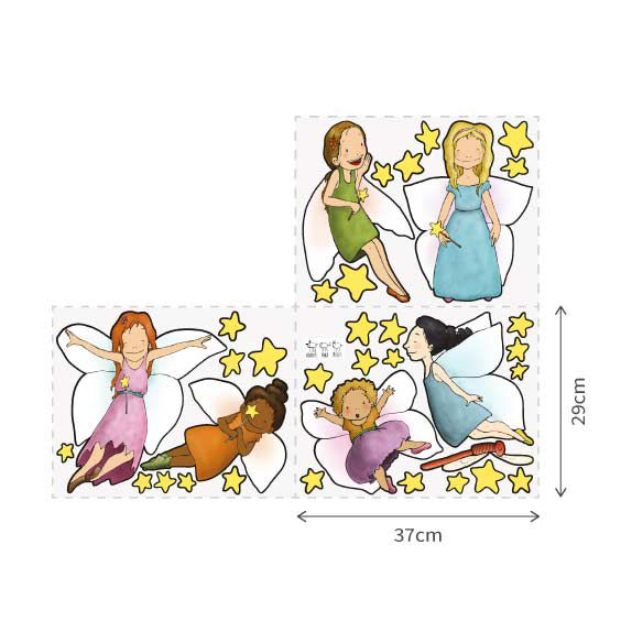 Fairy Girls Wall Decal 3