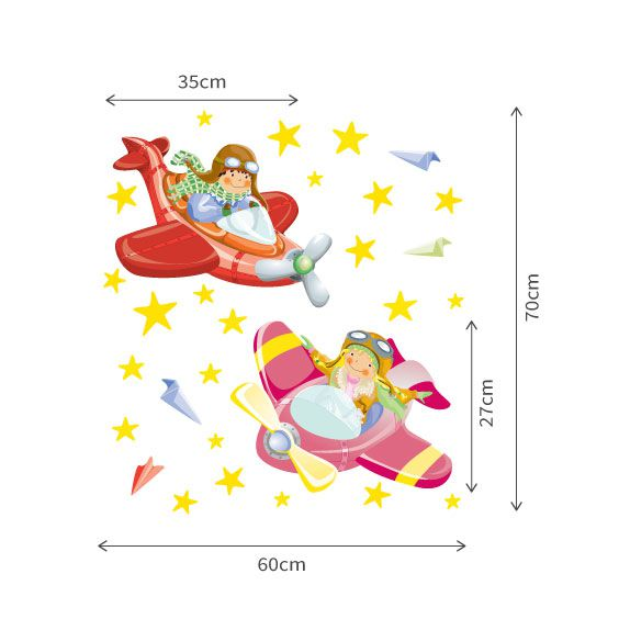 Flyer Children Wall Decal