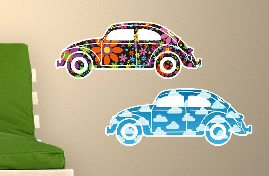 Stickers voitures Beetle1