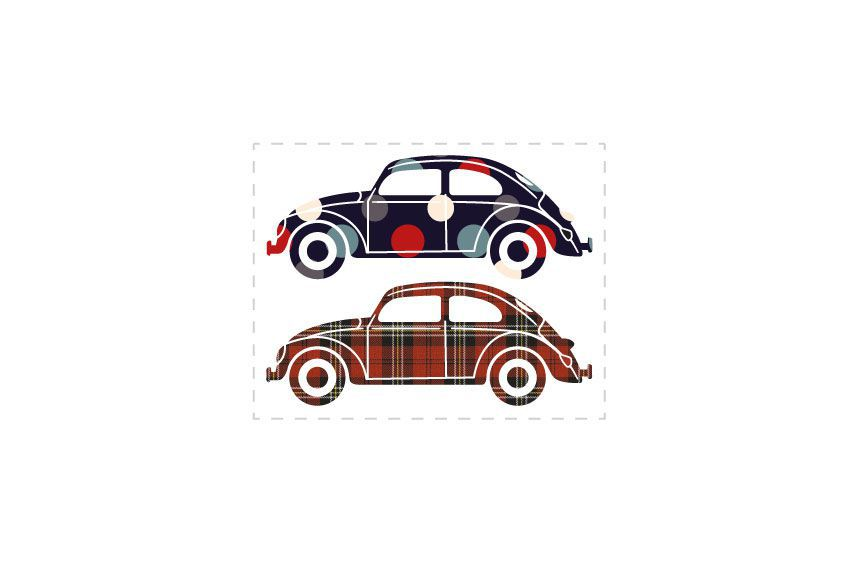 Stickers voitures Beetle 2