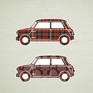 Mini Cars Wall Stickers 2