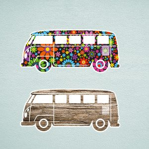 Bus Wall Stickers 1