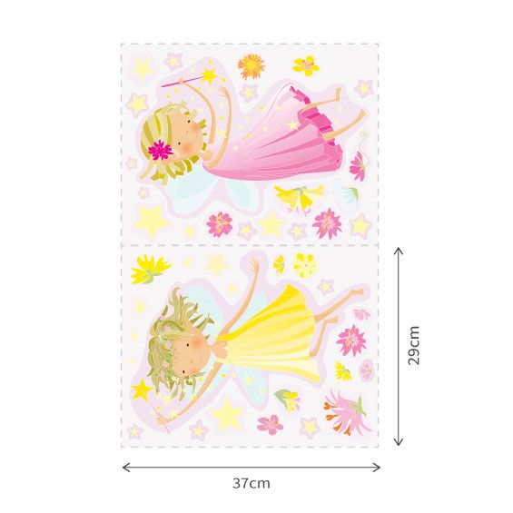 Fairies and Stars Wall Decals