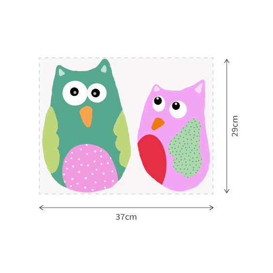 Owls Wall Decals
