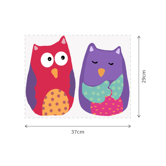 Owls Wall Decals 2