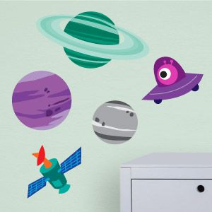 Stickers planètes