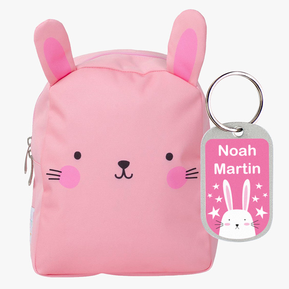 Bunny Little Backpack by A Little Lovely Company