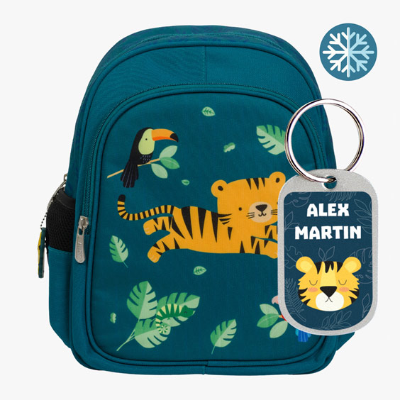 Tiger Backpack- A Little Lovely Company