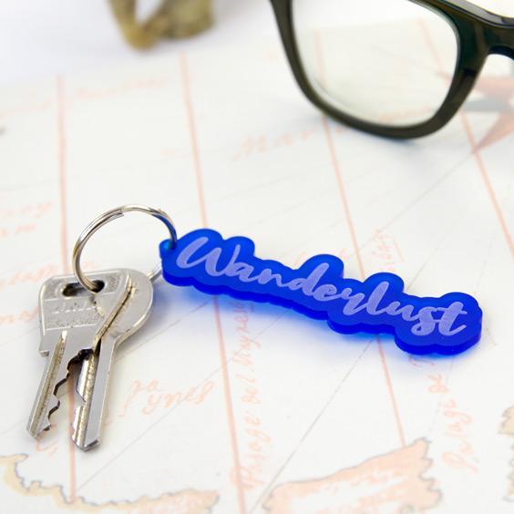 Acrylic Name Keychain