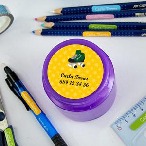 Etiquetes Adhesives Grans Rodones