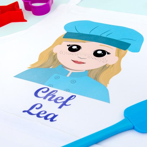 Grembiule da cucina per adulti personalizzato
