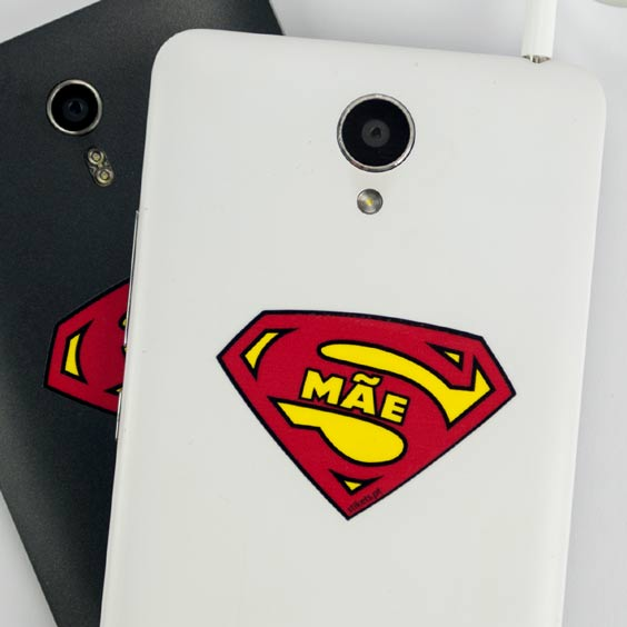 Autocolantes para telemóvel  com escudo supermãe