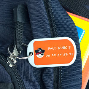 Porte-étiquette pour petit bagage