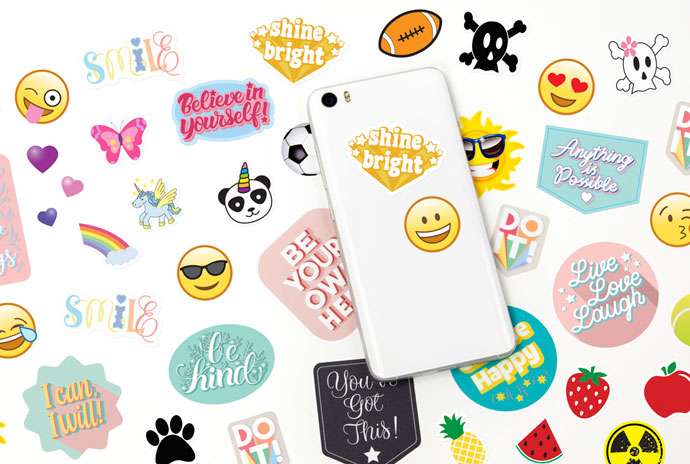 Stickers for phones