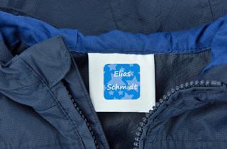 Entfernbare Haftetiketten für Kleidung