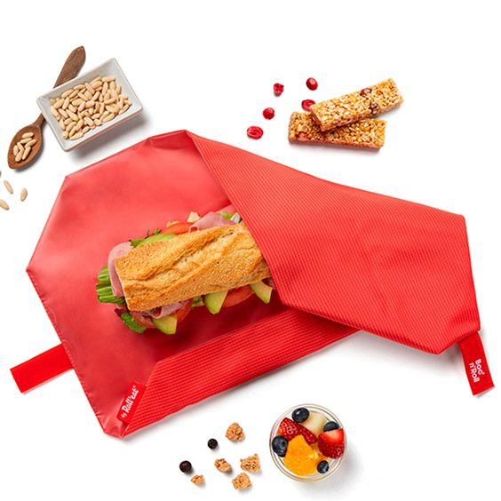 Red Boc'n'Roll reusable sandwich wrap