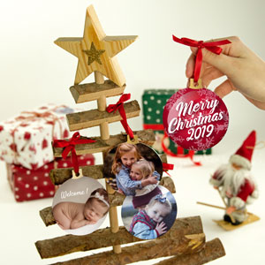 Personalised Christmas Ornaments with picture