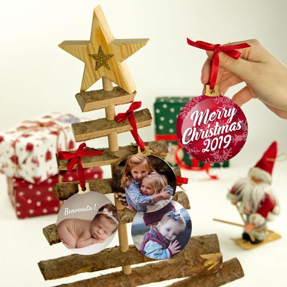 Palle di Natale personalizzate con il tuo design