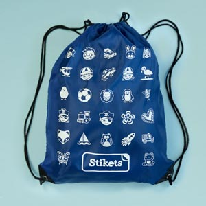 Stikets Icons String Bag