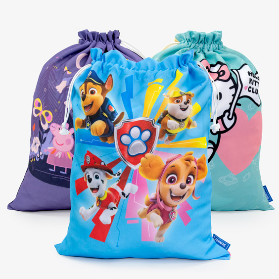 Cartoon Bags for Change of Clothing