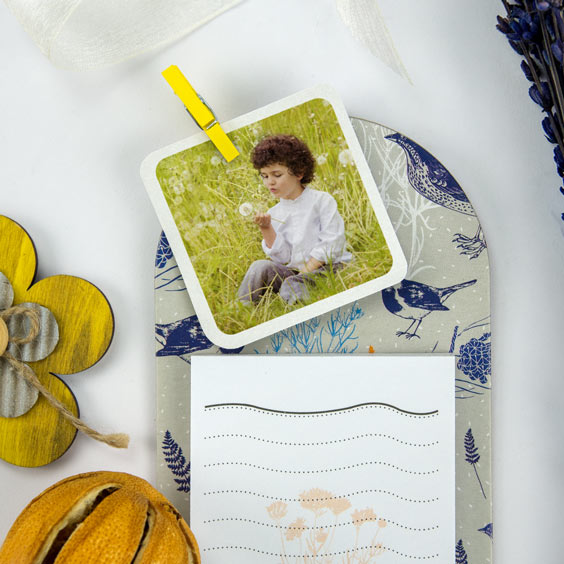 Square photo tags for 1st Communions