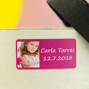 Rectangle Photo Labels for 1st Communions