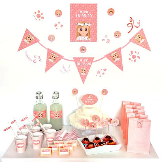Pack d'etiquetes per a decoració per a festes