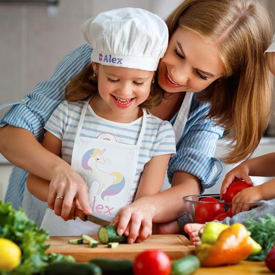 Czapka szefa kuchni dla dziecka