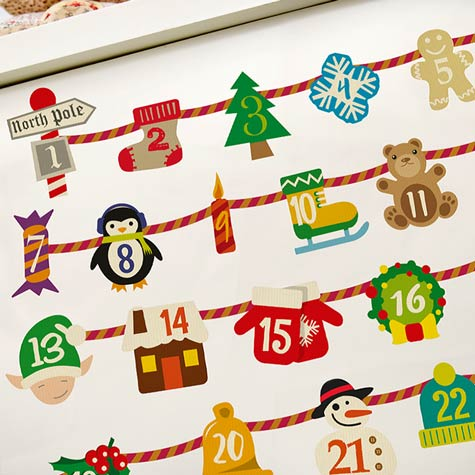 Ornaments Advent Calendar