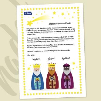 Carta dels Reis Mags