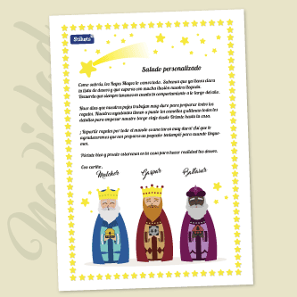 Letter from the Three Kings
