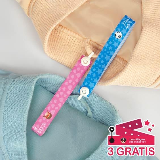 Personalisierte Aufhängebänder mit Verschluss