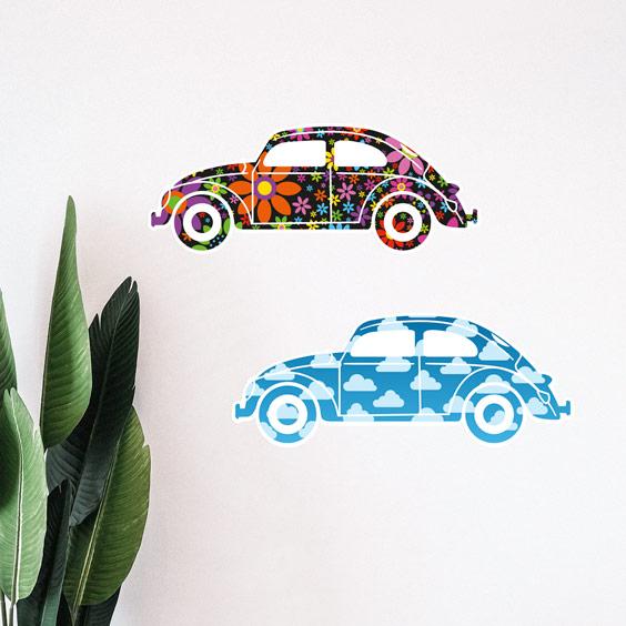 Vinil carros Beetle 1