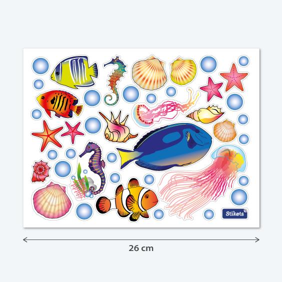 Vinilo del fondo marino