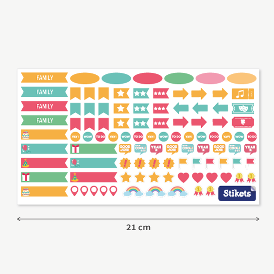 Personalized Stickers for Planners and Calendars