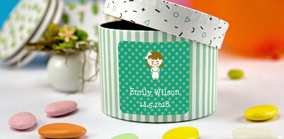 New favour labels for special events!