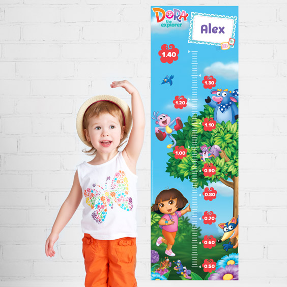 Dora the Explorer Growth Chart