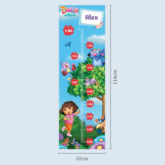 Toise enfant Dora l'exploratrice