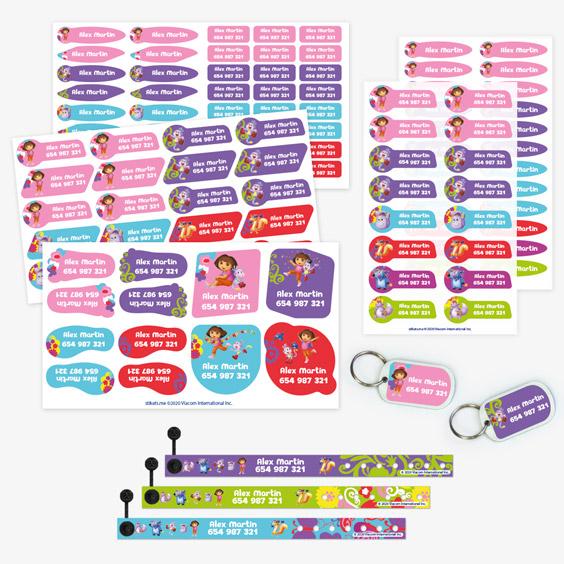 Pack Bracelets Dora l'exploratrice